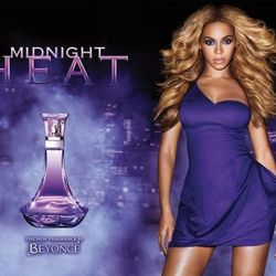 Beyonce's first fragrance was called Heat, and the concept worked so well that she stuck with it, releasing other similarly-named products. In 2012, her offering was Midnight Heat, which was all about the passion and sensuality. It doesn't look like Bey's
