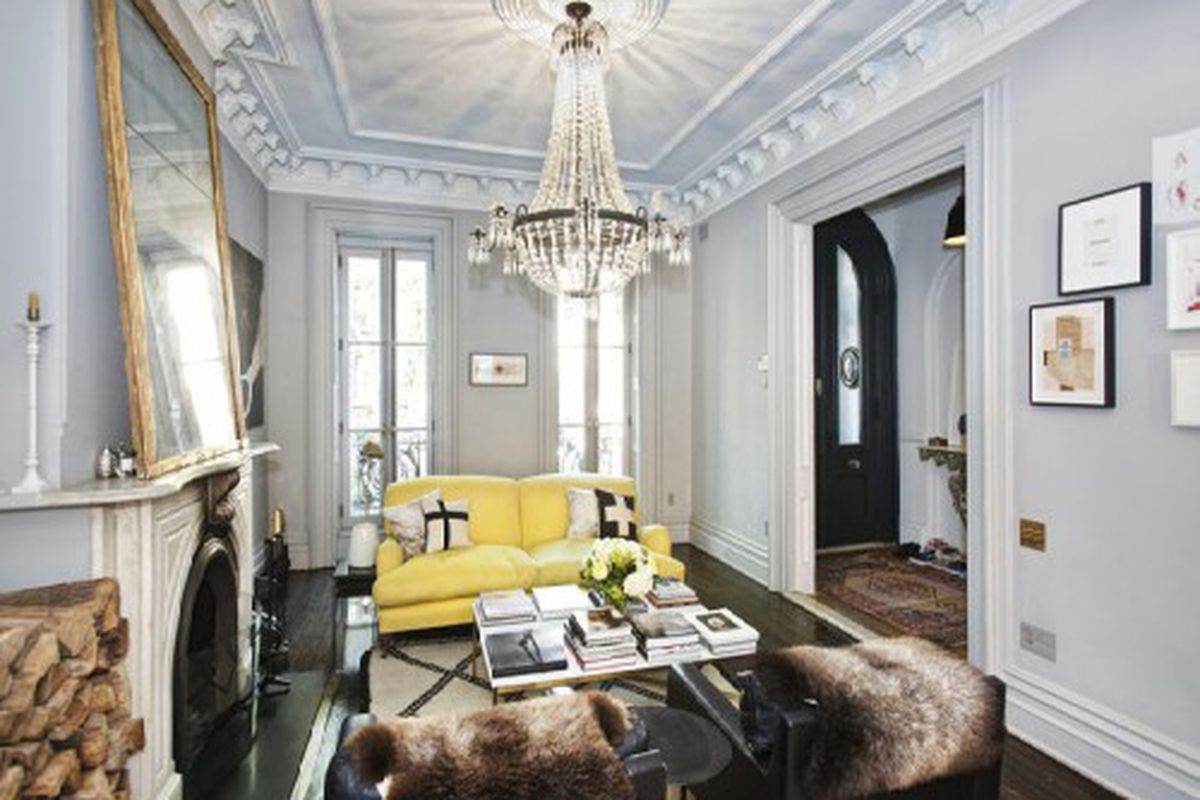 """See the full gallery of house photos at <a href=""""http://ny.curbed.com/archives/2011/11/08/jcrews_jenna_lyons_selling_her_knockout_park_slope_house.php"""">Curbed NY</a>"""