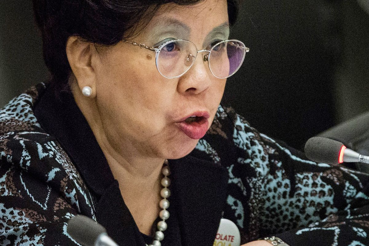 WHO Director General Margaret Chan.