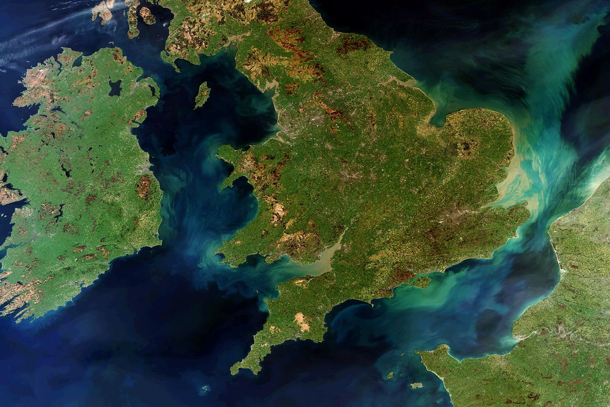 New genetic map of the UK shows which invasions created