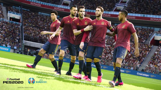 Image of article 'Euro 2020 is still on in PES 2020, even if it isn't in real life'