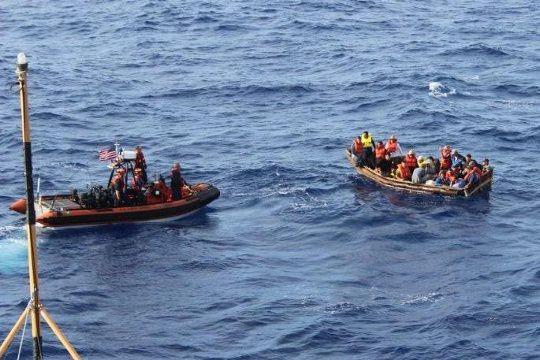 Cuban immigrants interdicted
