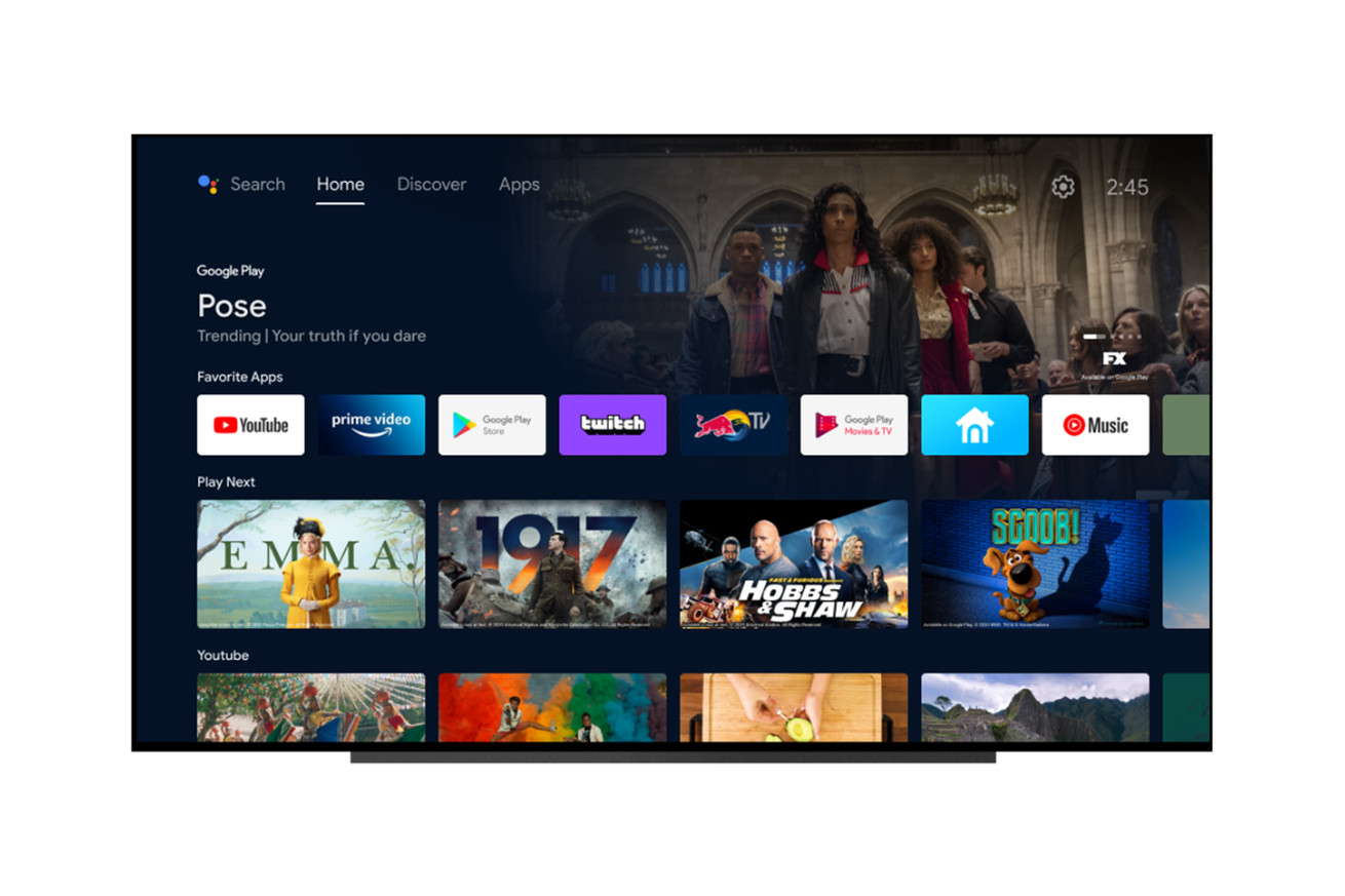 Android TV's latest update makes it look more like the Chromecast's Google TV