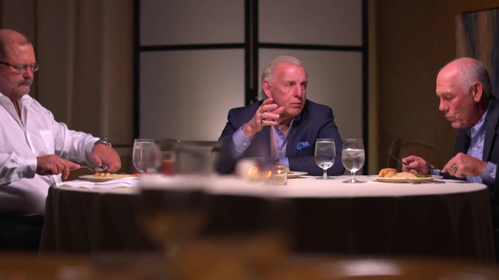 Table For 3 Ric Flair Arn Anderson Tully Blanchard