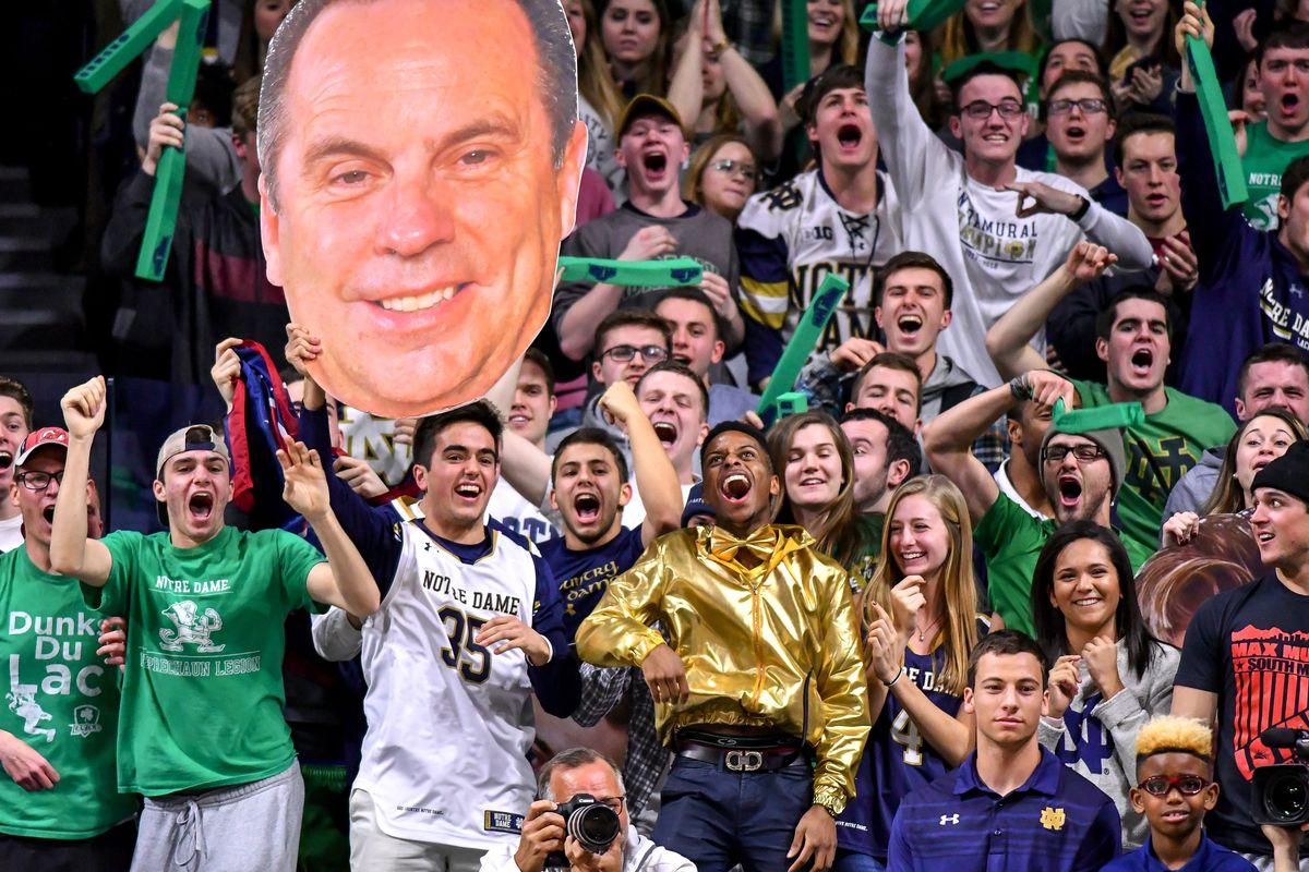NCAA Basketball: North Carolina at Notre Dame