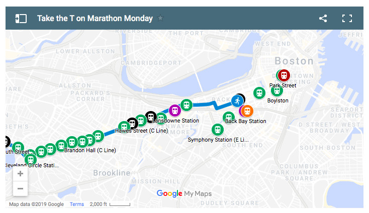 Boston Marathon public transportation: What to know about