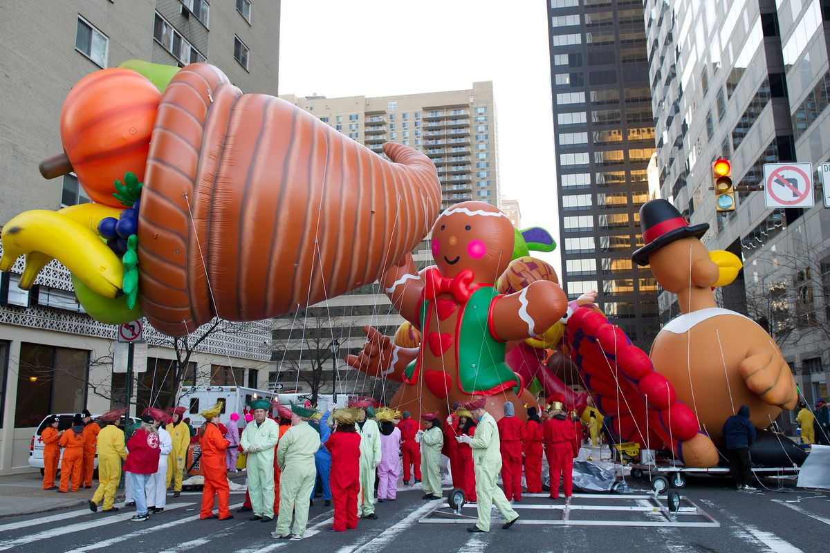 the annual 6abc thanksgiving day parade in philly takes place on november 23 2017 gilbert carrasquillogetty images