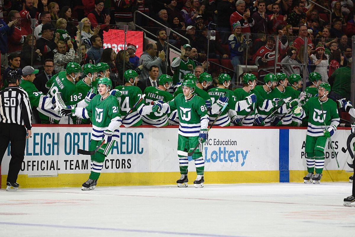 Carolina Hurricanes Game Analysis  A Whale of a Time (About Last ... 98541f835