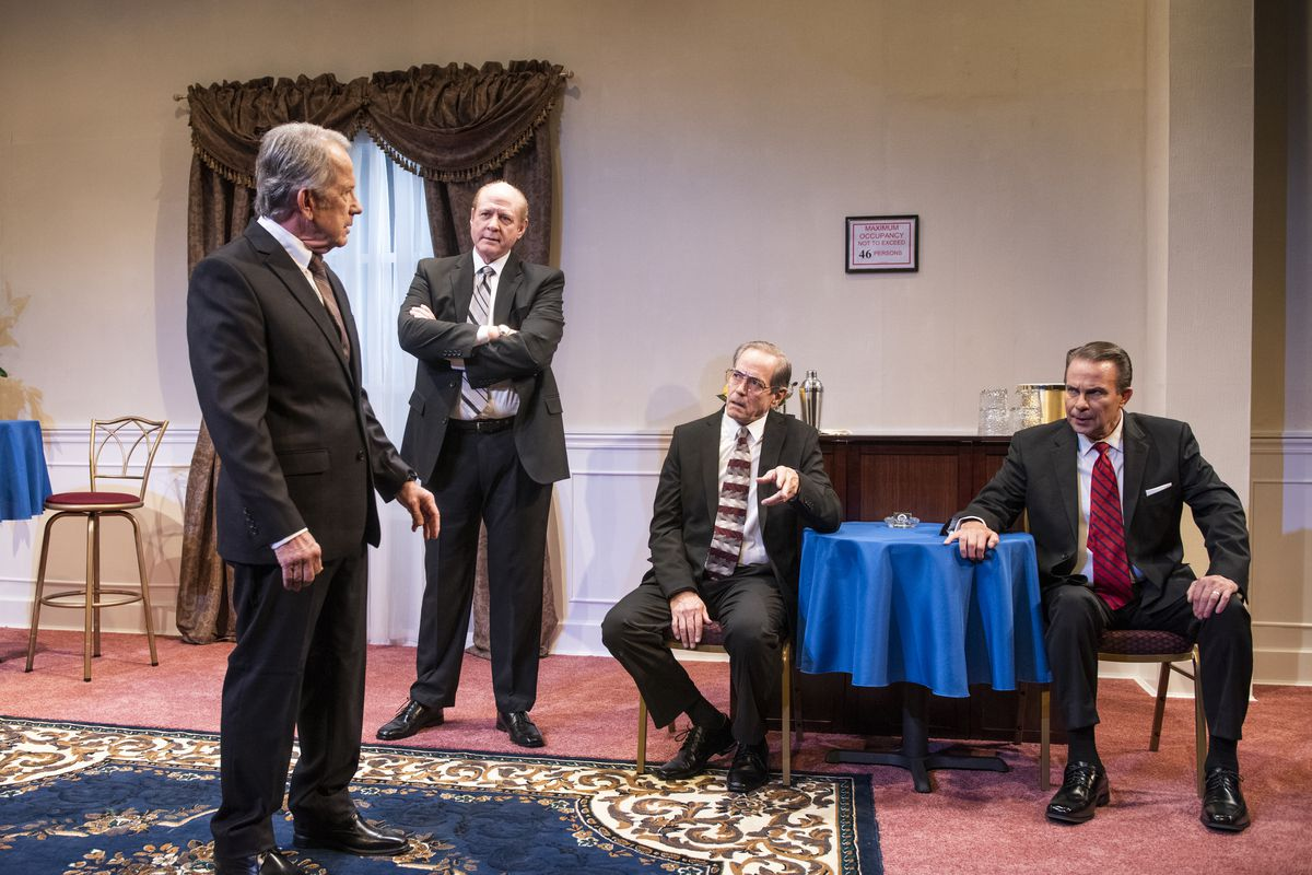 American Blues Theater's 'Five Presidents' imagines what went on in real life at Nixon's funeral