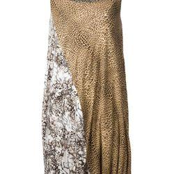 "Mixed animal print dress, <a href=""http://www.farfetch.com/shopping/women/wunderkind-mixed-animal-print-dress-item-10609787.aspx"">Wunderkind</a>, $625"