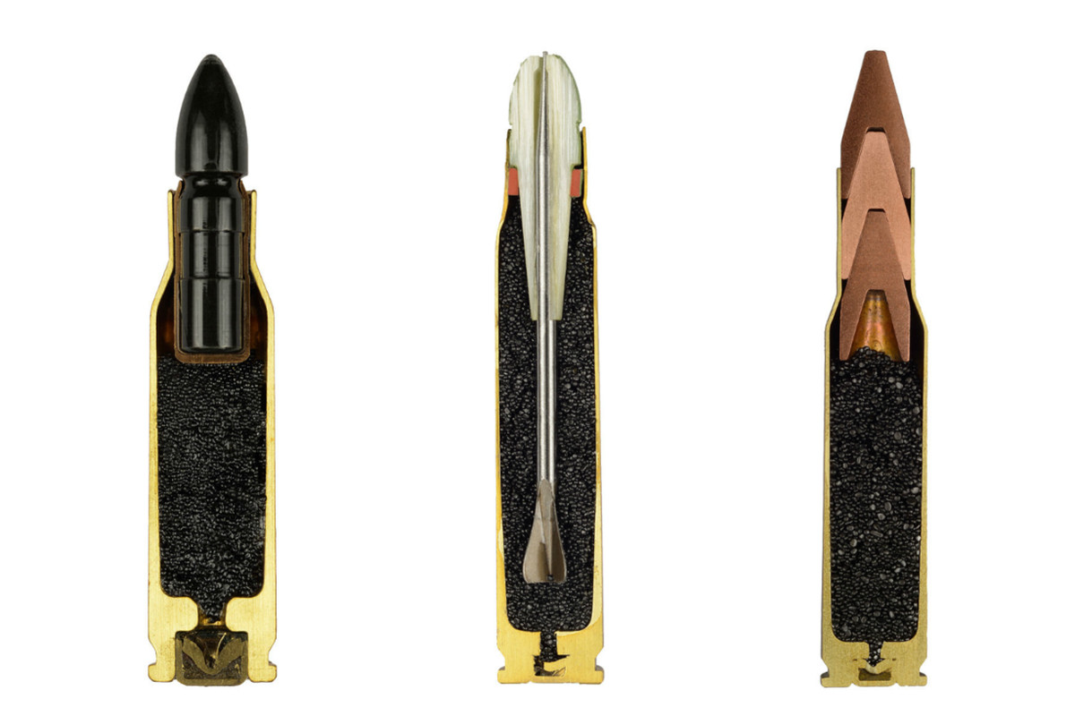Captivating Ammo Photos Expose The Hidden Anatomy Of Bullets The