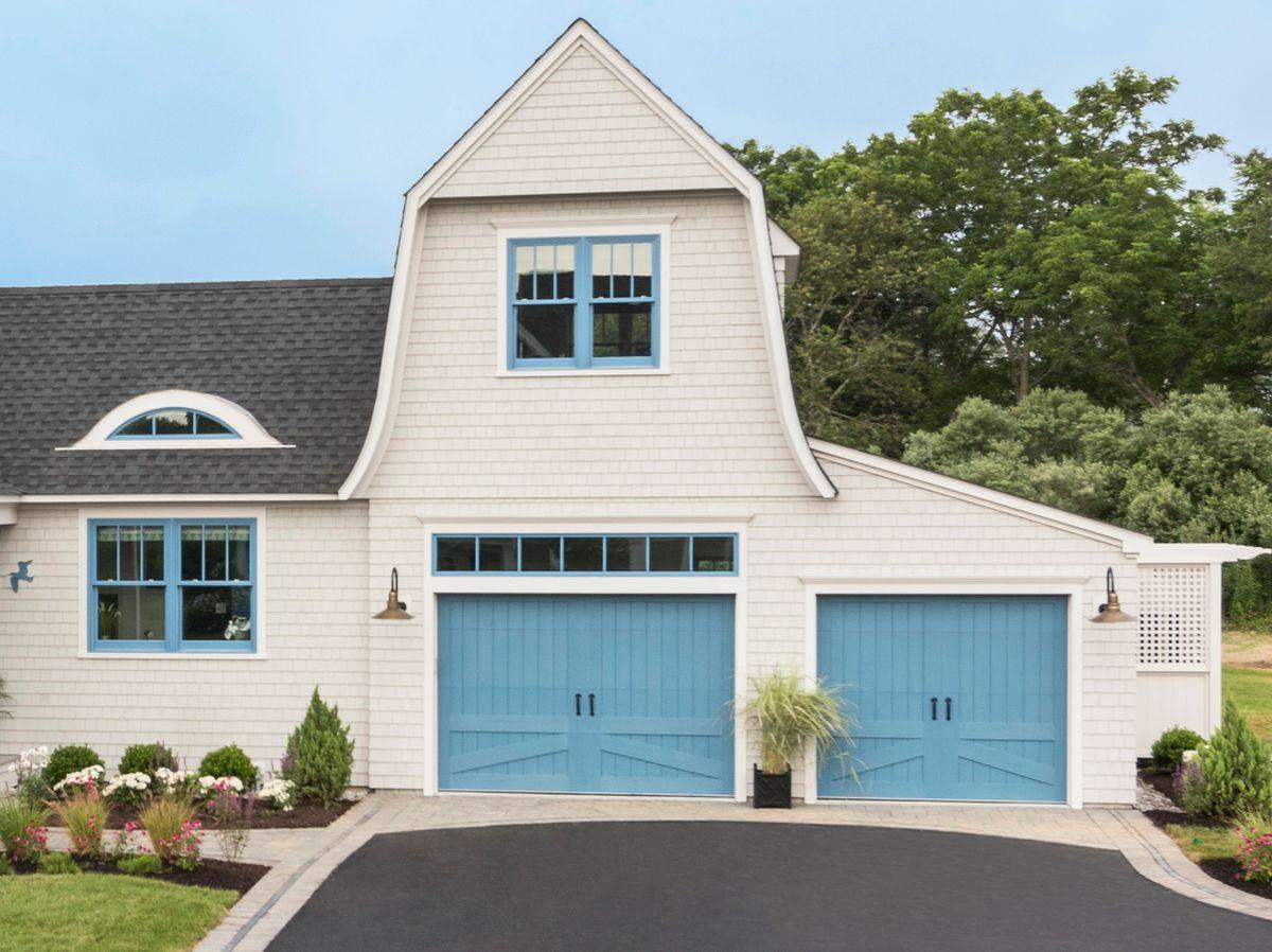 Spring 2021, Reno Planner: Garage Door Smarts, Idea House garage