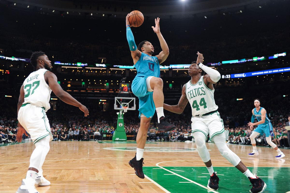 b551a6e0c Hornets fall to Celtics 115-112 second preseason game - At The Hive
