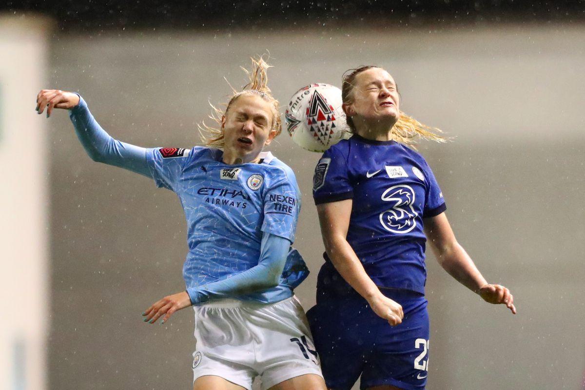 Manchester City v Chelsea - FA Women's Continental League Cup Quarter Final