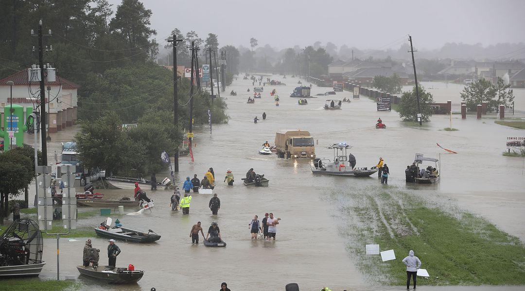 Harvey broke a national rainfall record for a single tropical storm