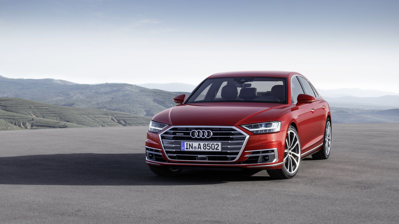 The new Audi A8 luxury sedan is a high-tech beast that can drive itself