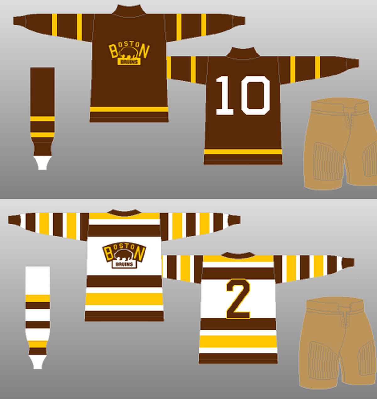 2016 Winter Classic: A Sneak Peek At The Logos The Bruins