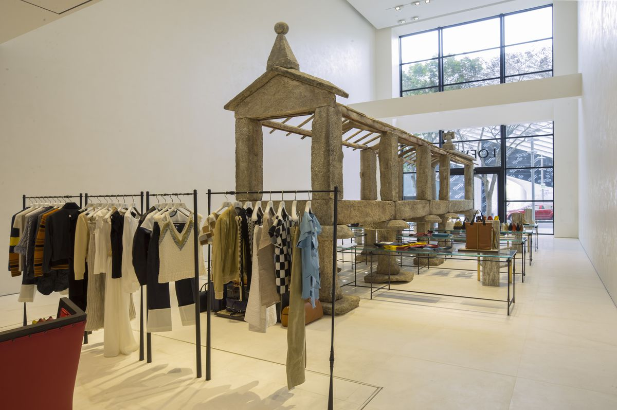 There's an 18th-Century Spanish Granary Inside Loewe in the Design District