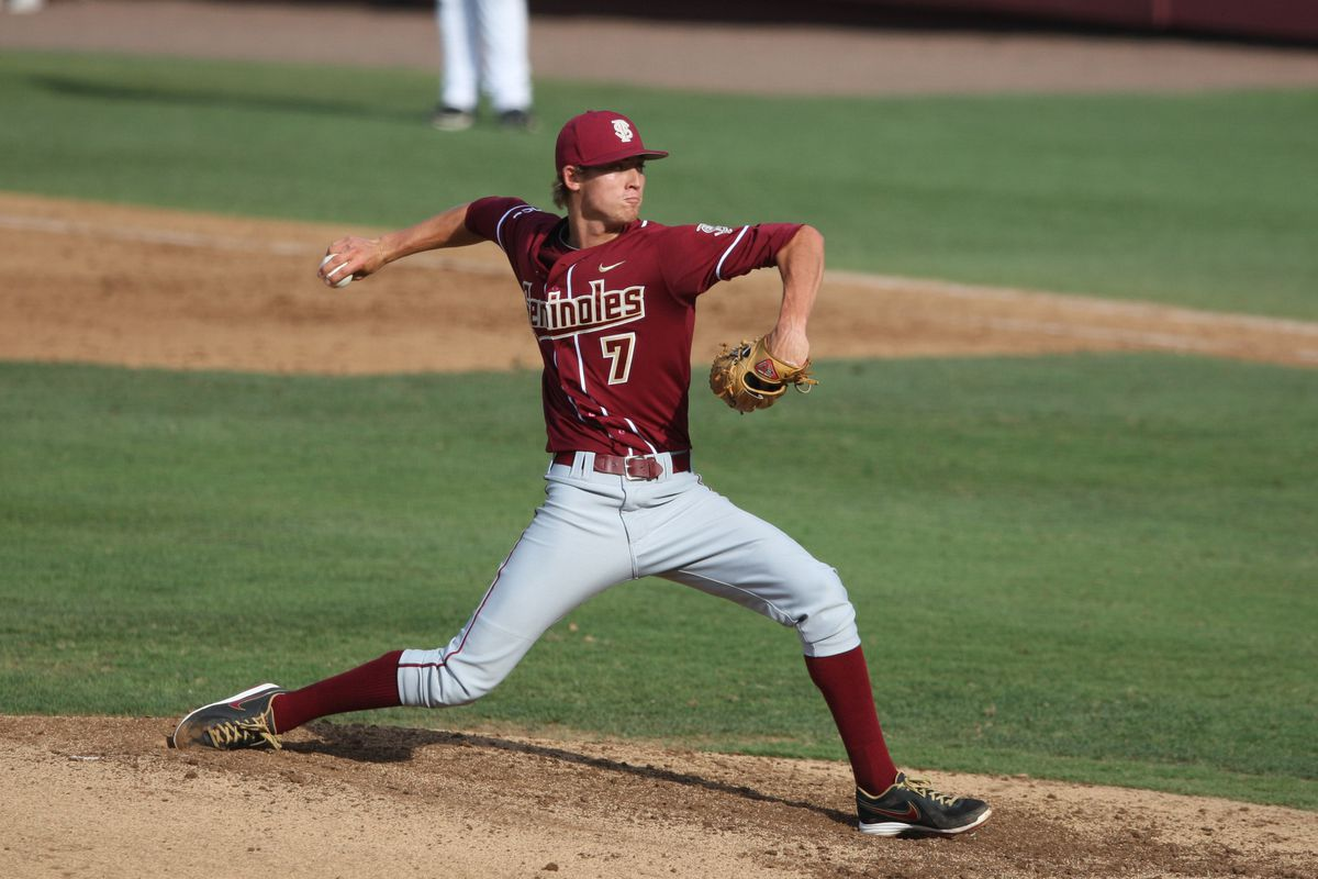 RHP Luke Weaver is expected to go in the first fifty picks of the draft.