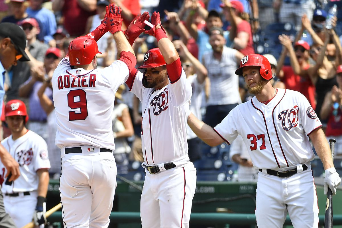 quality design c21d5 f25d6 Washington Nationals avoid sweep with an 11-4 win over the ...