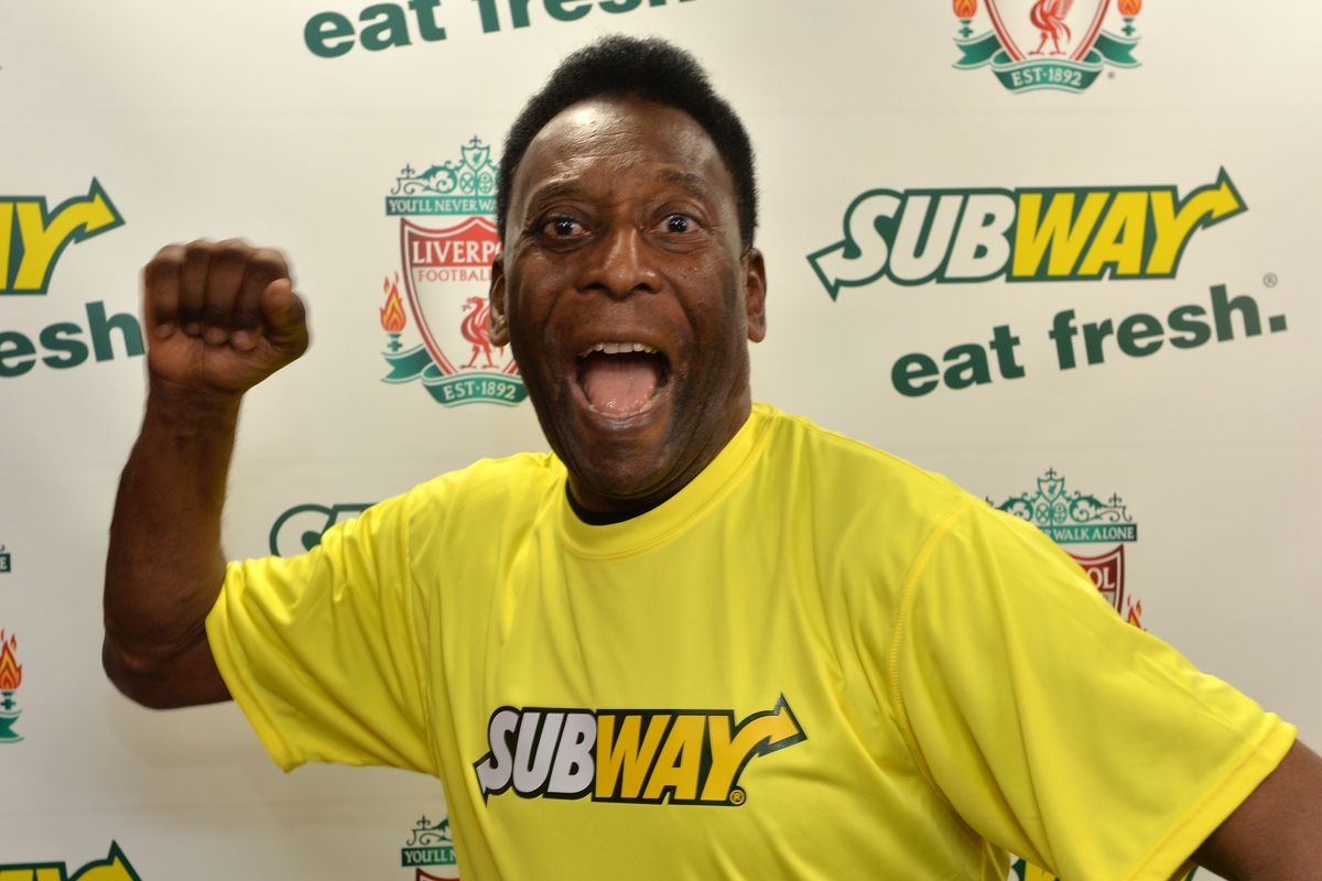 SUBWAY Global Ambassador and Brazilian soccer legend Pelé
