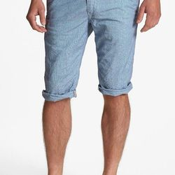 """The old-school courdory fabric combined with the updated slim fit makes these shorts truly interesting. $69.50, <a href=""""http://shop.nordstrom.com/S/union-georgetown-chino-shorts/3447229?origin=related-3447229-null-1-2-FTR-AHAM-Recently%20Viewed&BaseUrl=C"""