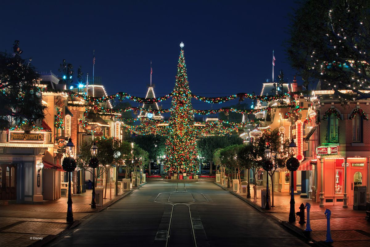 Disney Merriest Nites, the first after-hours holiday party at Disneyland Park in Anaheim, California.