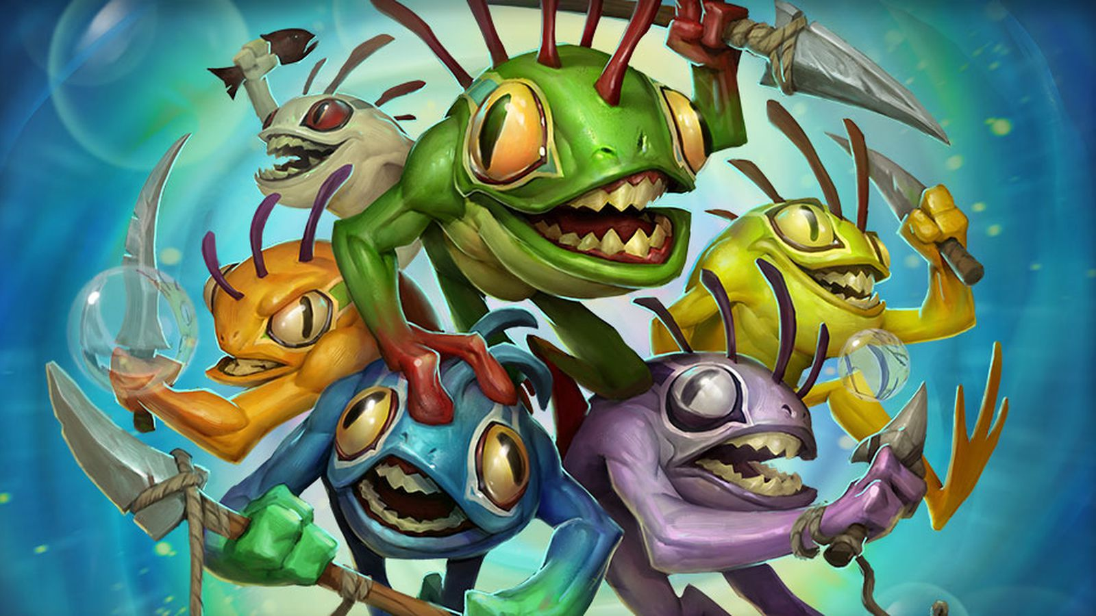 Hearthstone's new hero, a murloc shaman, is unlocked by recruiting friends to the game - Polygon