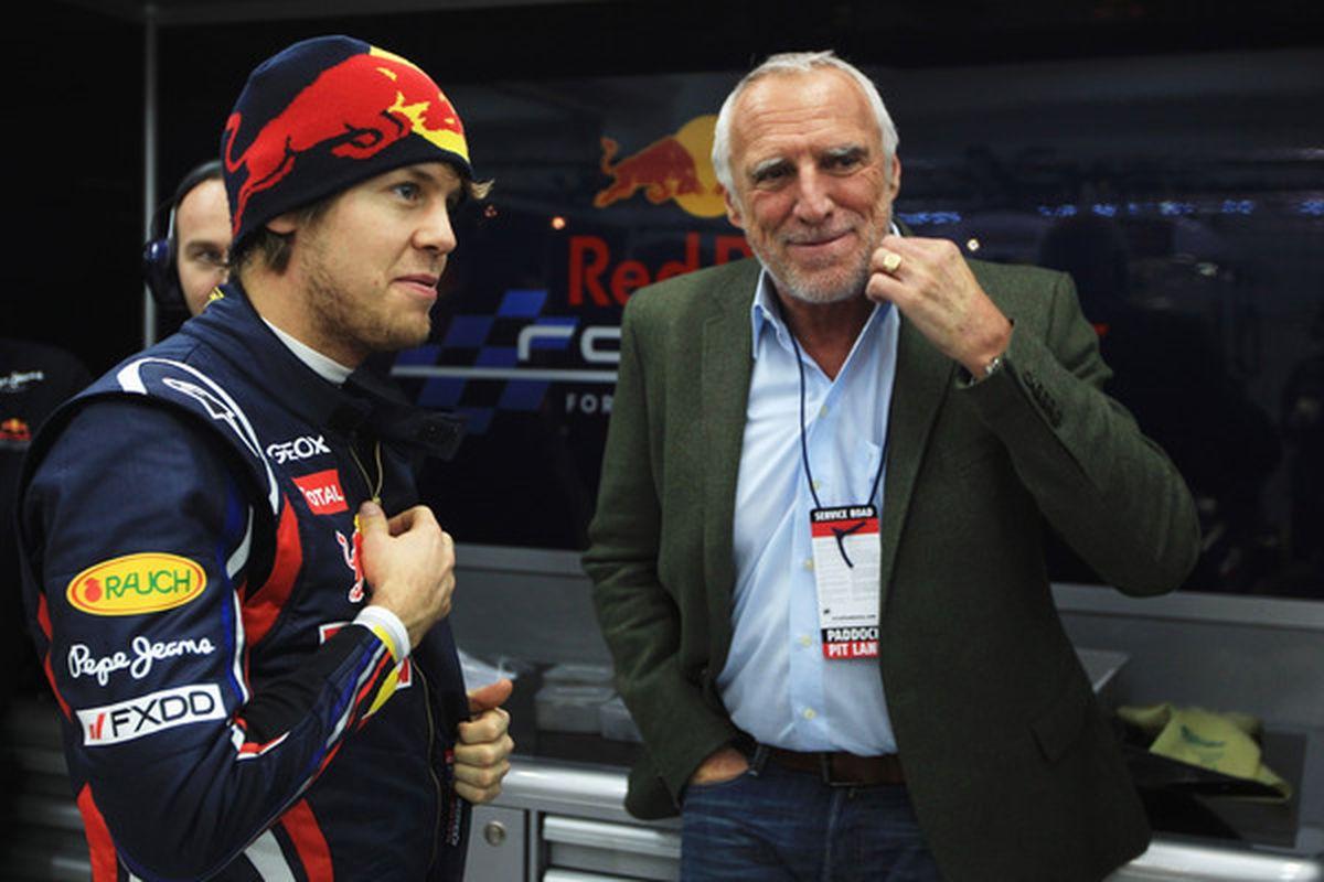 Red Bull owner Dietrich Mateschitz.