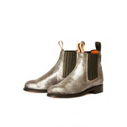 """Penelope Chilvers metallic Chelsea boots,  <a href=""""http://americantwoshot.com/women/shoes/penelope-chilvers-metallic-chelsea-boot"""">$318.50</a> at American Two Shot"""