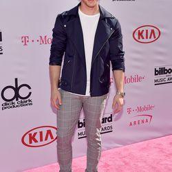 Nick Jonas in Topman