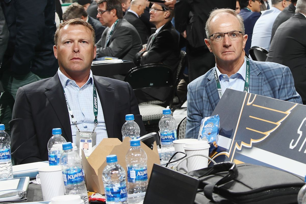 Report Martin Brodeur Not Returning To Blues Front Office St