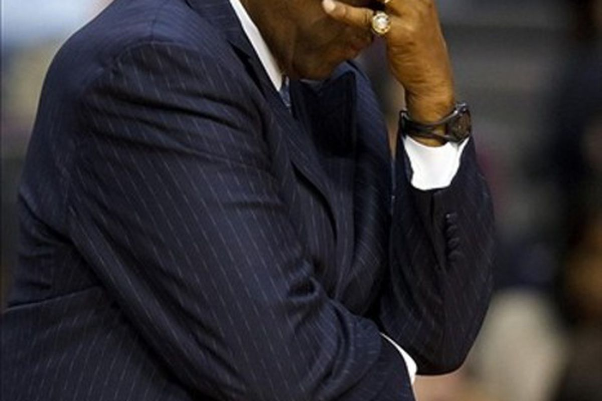Paul Silas Out As Head Coach Charlotte Bobcats At The Hive