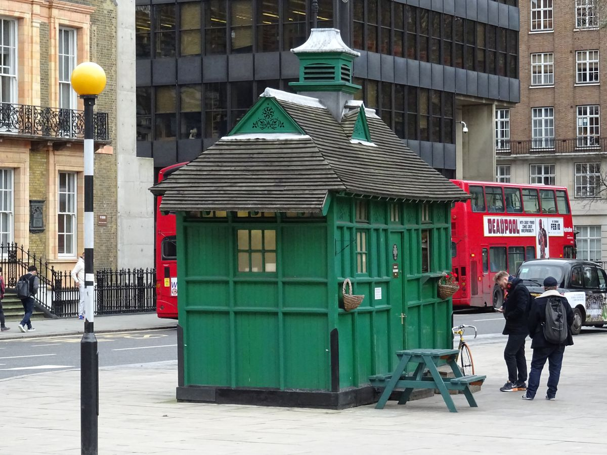 Best bacon sandwiches in London: Cabmen's Shelter at Russell Square