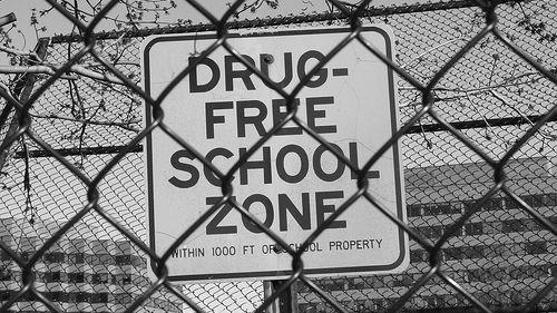 Signs like this adorn many U.S. schools.