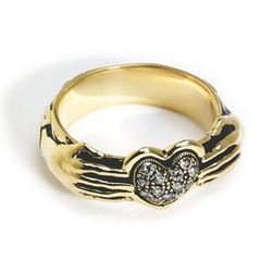 """Pamela Love 'Aeternum' ring, <a href=""""http://www.pamelalovenyc.com/collections/pamela-love/products/18k-gold-aeternum-ring"""">$3,950</a>"""
