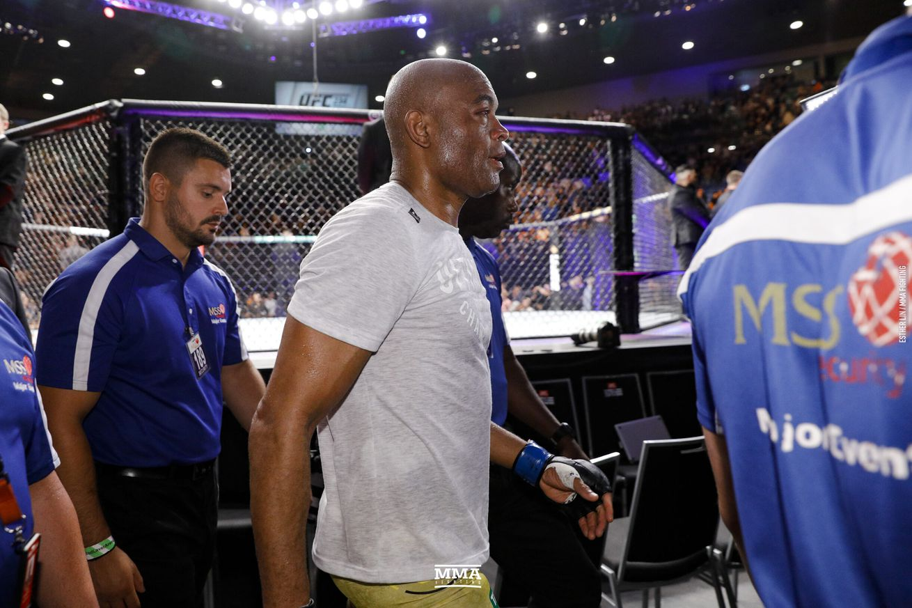 Anderson Silva has only one win since 2013, a close decision against Derek Brunson.