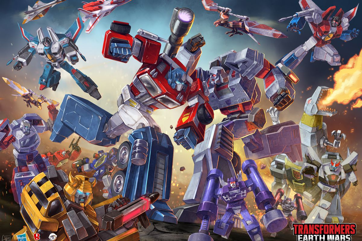 transformers: earth wars brings original voices of optimus prime
