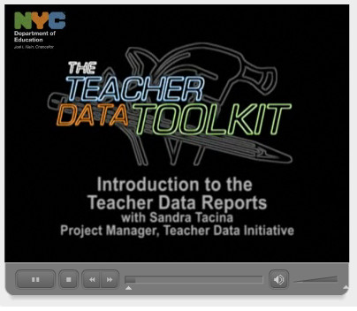 The Department of Education created videos to explain the reports. View them ##http://schools.nyc.gov/Teachers/TeacherDevelopment/TeacherDataToolkit/LearnKeyConcepts/Videos/VIdeo2.htm##here##.