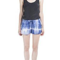 "<b>Wren</b> tie-dye soft short, $198 at <a href=""http://shop.wrenstudio.com/collections/frontpage/products/tie-dye-soft-short""target=""_blank"">Wren</a>"
