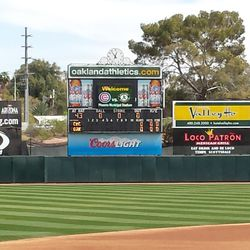 You don't see scoreboards like this any more -