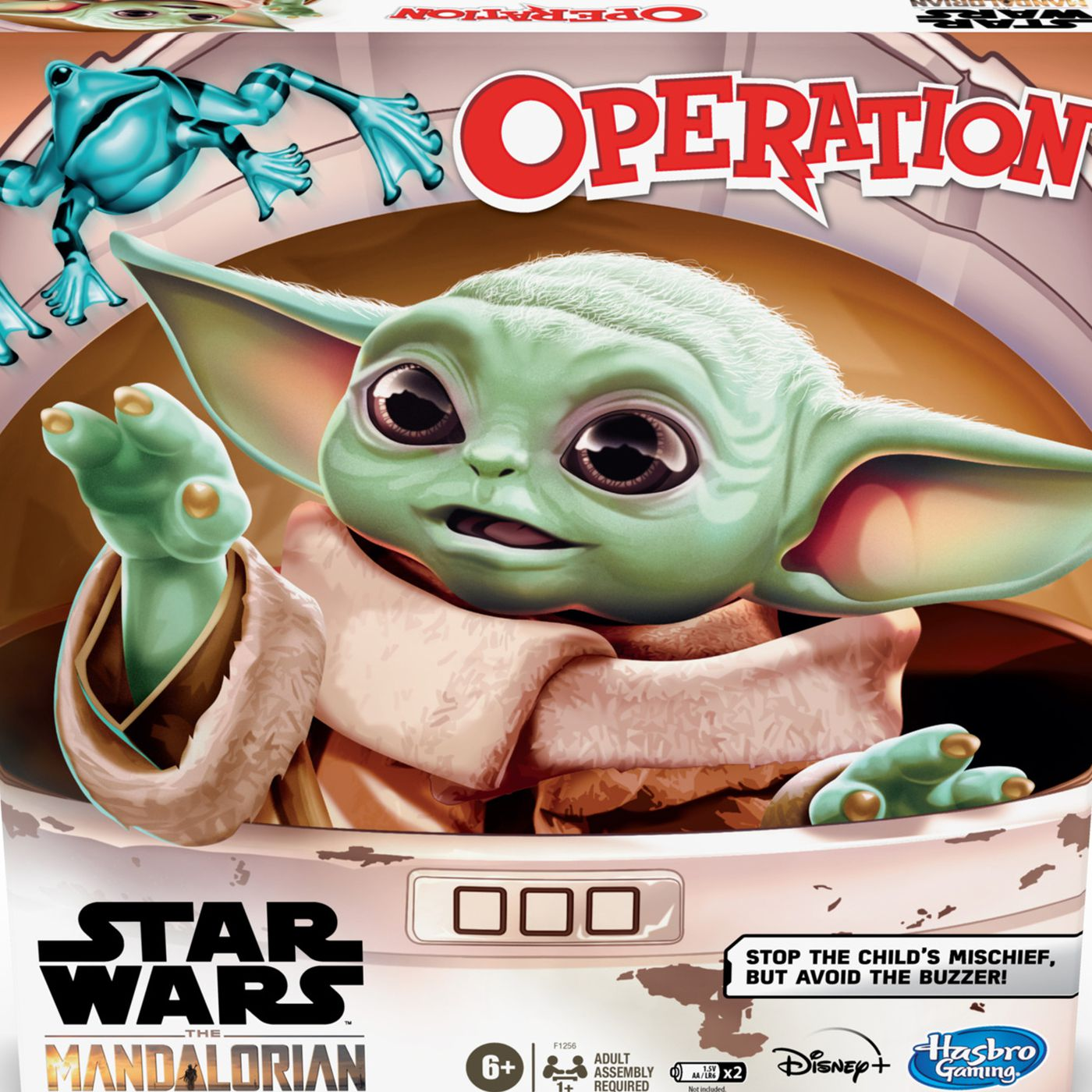 Baby Yoda Operation Board Game Does Not Require Surgery On The Child Polygon