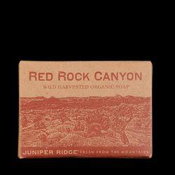 "Red Rock Canyon wild harvested organic soap, <a href=""http://www.unionmadegoods.com/juniper_ridge_Red_Rock_Canyon_Soap_3491.html"">$10</a> at Unionmade; real men smell yummy"