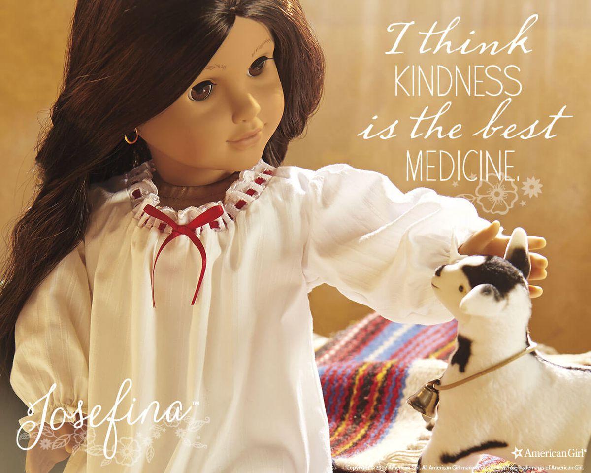 josefina as a doll