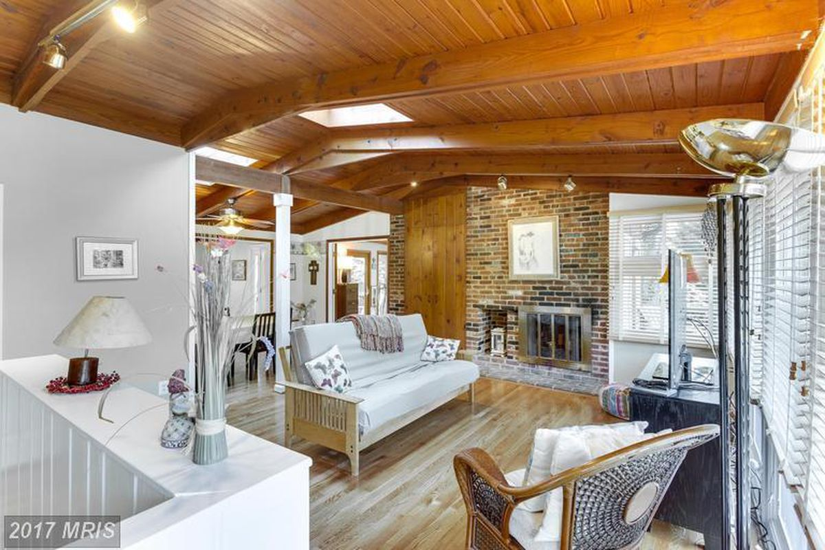 inspired by frank lloyd wright this falls church home is on the