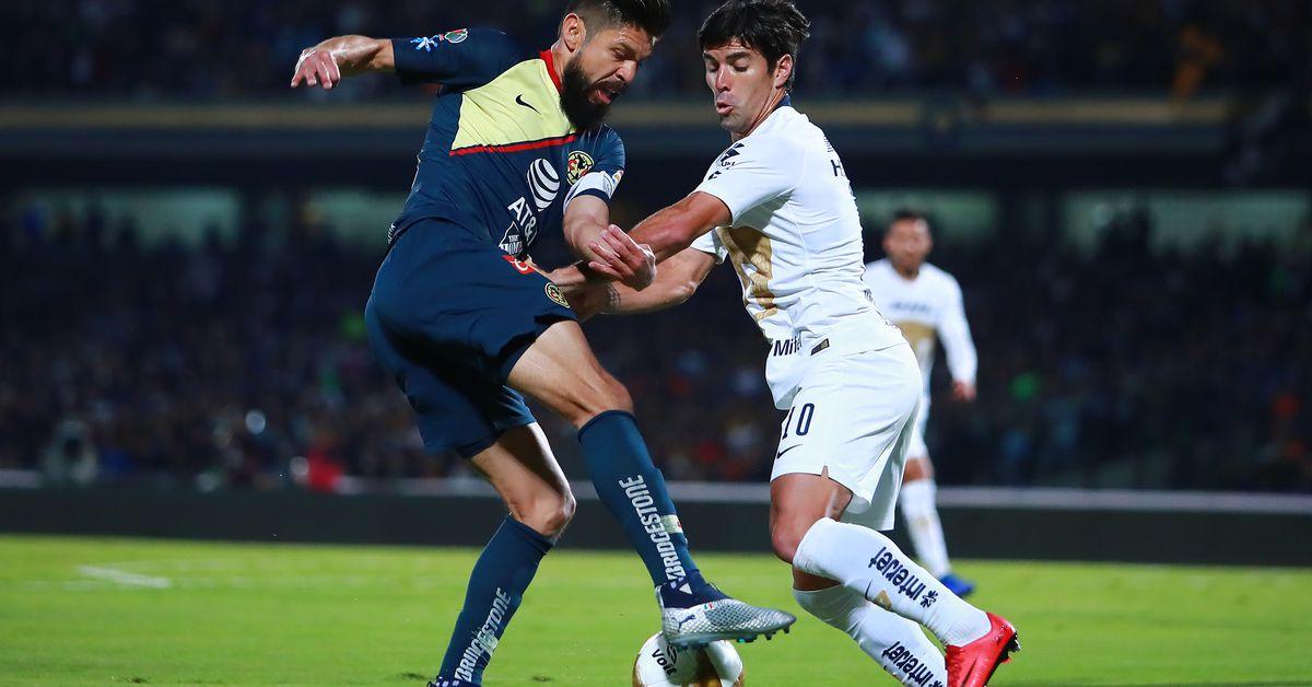 Club América vs Pumas UNAM live stream: Time, TV channels and how to watch Liga MX Liguilla online