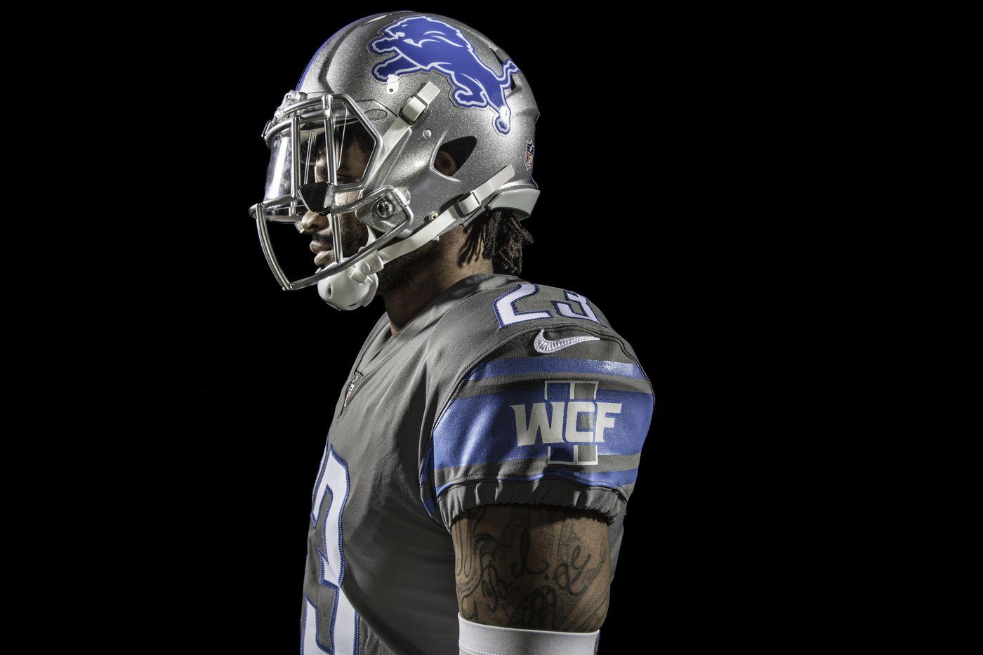 detroit lions home jersey