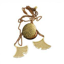 Erica Weiner - Ginkgo Necklace w Locket ($70)