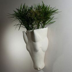 """Equus Wall Vase at <strong>Hudson</strong>, <a href=""""http://hudsonboston.com/collections/accessories/products/equus-wall-vase"""">$325</a>"""