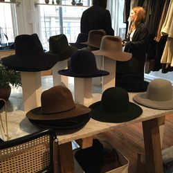 Clyde hats, $112—$142